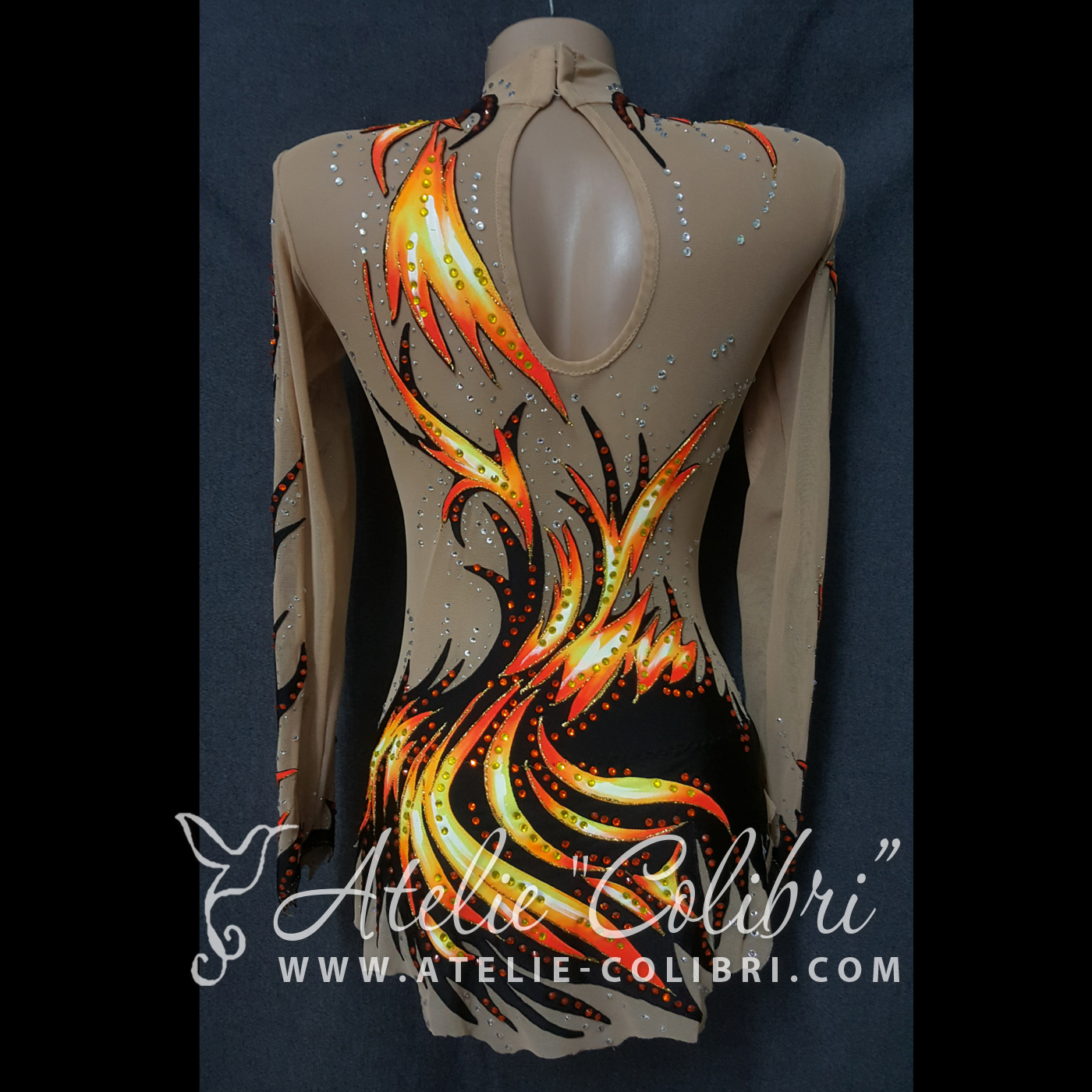 Rhythmic Gymnastics Leotards | Atelier Colibri |  ( R_0189_2 )