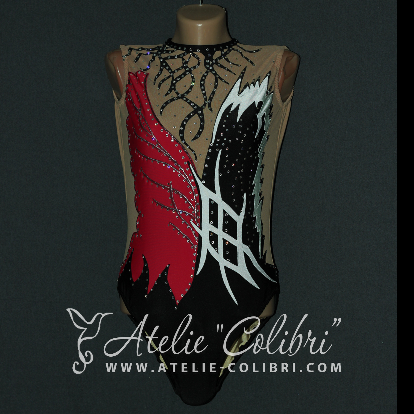 Leotards for Synchronized Swimming | Atelier Colibri |  ( SP_R_0045_1 )