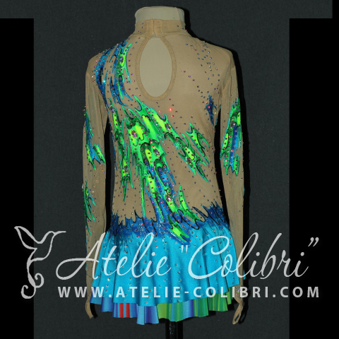 Leotards for Ice Skating | Atelier Colibri |  ( F_K_0188_1 )