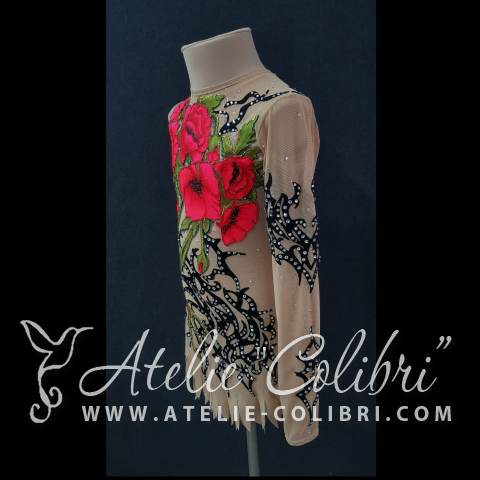 Rhythmic Gymnastics Leotards | Atelier Colibri |  ( K_0231_1 )