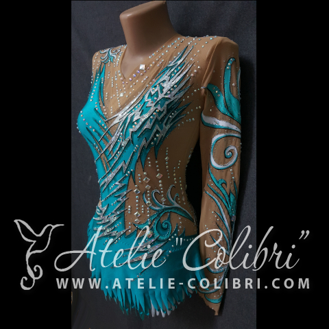 Rhythmic Gymnastics Leotards | Atelier Colibri |  ( R_0125_2 )